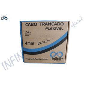 Caixa De Cabo 4mm Cftv Câmera Alimentação Bipolar 100m
