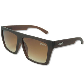 Óculos De Sol Evk 15 New Masculino Marrom Uv400 Frete Grátis 91ca392cfa