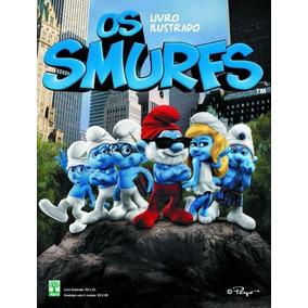 Album De Figurinhas Os Smurfs - O Filme + 100 Fig Soltas
