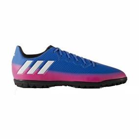 size 40 7dac9 e165d Botines adidas Messi 16.3 Tf Niños Azul