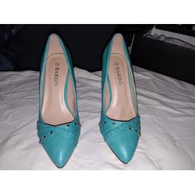 Zapatos Libre Mujer Tacones Venezuela Mercado Verde En Turquesa qPyEY