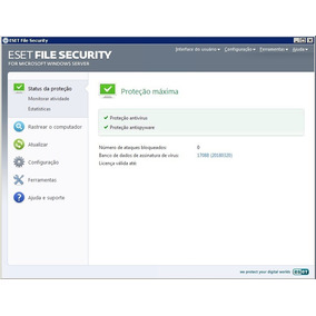 Eset® File Security Microsoft Windows Server - Rapa Estoque