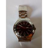 4fb8c9083cb Relógio Swatch Feminino Analógico Fundo Preto