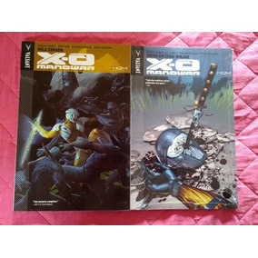 X-o Manowar 2 Volumes Encadernado
