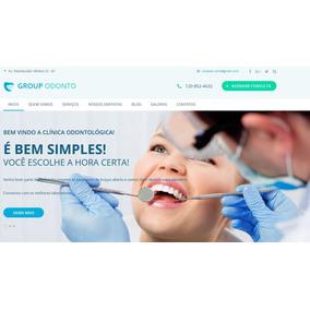 Site Para Dentistas - Feito Em Bootstrap 4 E Html