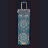 Parlante Pcbox Sp-210r Dj Con Bateria Bt X 2
