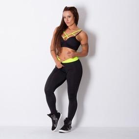Legging Fitness Lisa Na Cor Preto! Promoção