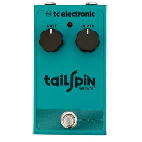 Pedal Tc Electronic Tail Spin Vibrato + Nf E Garantia