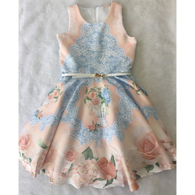 10.13.31246 Vestido Estampado Floral Petit Cherie