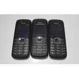 Lote Com 3 Celulares Nokia 1508i Para Retirada De Peças