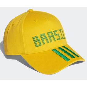 Bone Adidas Amarelo - Acessórios da Moda no Mercado Livre Brasil 1af83cbca6491