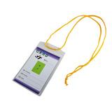 Solapero Acreditación Congreso Vertical Cordón 7x11 | Escool