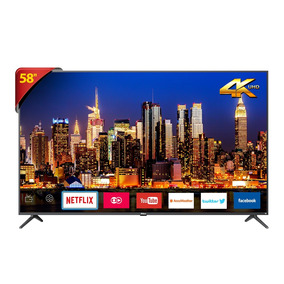 Tv Led 58 Philco Smart Ptv58f60sn 4k - Dtv, Wi-fi Integrado