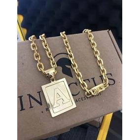 0927 Pingente Letra K Ouro Branco Com 7 Diamantes 18k - Joias e ... c5fc2e5708
