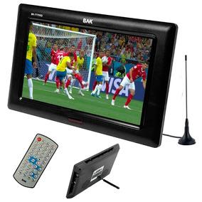 Tv Portatil Tela 7 Lcd Monitor Camera Vídeos Fotos Usb Sd Av