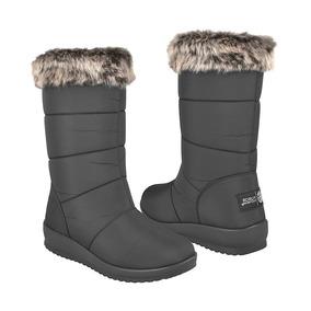 Botas De Invierno Para Dama Furor 14040 Negro