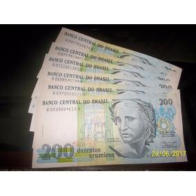 Cedula C215 200 Cruzeiros