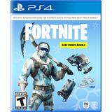 Videojuego Fortnite Deep Freeze, Playstation 4