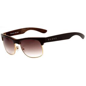 c1711c3d07615 Evoke Kosmopolite Ds6 - Óculos De Sol Wd01 Black Shine Wood