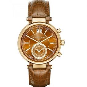 3eec9946ade Relogio Michael Kors Feminino Marrom - Relógios De Pulso no Mercado ...