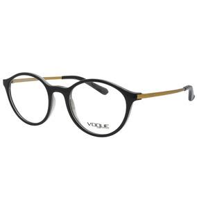 Armacao Oculo Grau Feminino Vogue - Óculos Preto no Mercado Livre Brasil d4d6834f4c