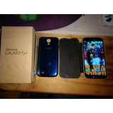Celular Galaxy S4 Color Azul..
