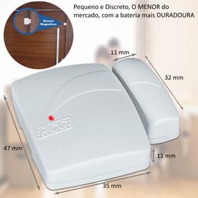Sensor Magnetico Sem Fio Para Alarmes 433 Mhz - Rcg