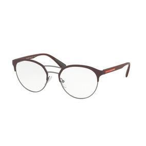 Armacao Oculos Vermelho Bordo Prada - Óculos no Mercado Livre Brasil 021ee1695b