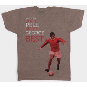 Playera George Best - Maradona Good, Pelé. Marca Minko