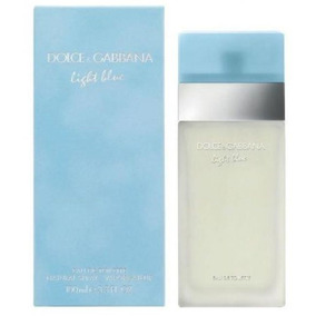 Perfume Original Light Blue Mujer 100ml Edt Dolce & Gabbana