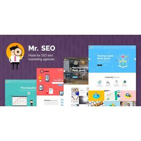 Mr. Seo -tema Para Agencias De Marketing Digital + Brindes