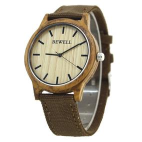 Reloj De Bambu Hombre - Reloj de Pulsera en Mercado Libre México 45d10e4be872