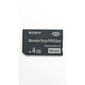 Cartão De Memória Stick Pro Duo Sony 4gb