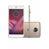 Celular Motorola Moto Z2 Play 64gb, 12mp, Lacrado, Dourado