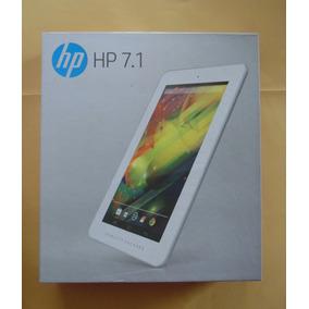 Tablet Hp 7.1 1201br, Quad Core 1ghz, 1gb Ram, 8gb, Wi-fi