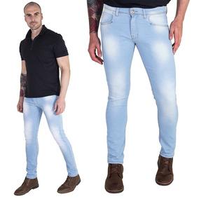 47898afea184e Calças Calvin Klein Calças Jeans Masculino Azul claro no Mercado ...