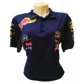 Camisa Camiseta Polo Redbull Red Bull Feminina Corrida e37a96ae2c1