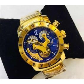d51002f1f92 Relógio Masculino Dourado - Relógio Bvlgari Masculino no Mercado ...