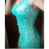 Vestido Corto Elegante De Fiesta Dama