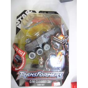 Star Wars Transformers - Clone Commander Cody Turbo Tank
