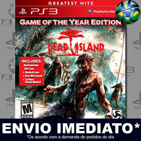 Jogo Dead Island Game Of The Year Edition Ps3 Midia Digital