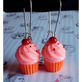 Lindo Brinco Feminino Pop Cupcake Diferente Geek Cosplay