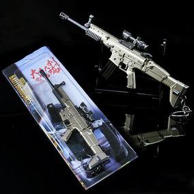 Arma Pugb Scar-l Scar Cs Coleção Aprox. 17cm Coleção