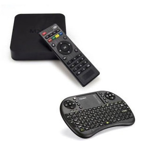 Smart Tv Box 4k 2019 + Teclado Netflix Kodi