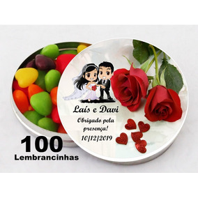 100 Latinhas Personalizadas + Brinde