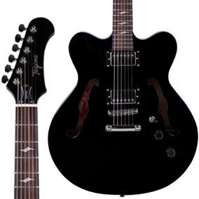 Guitarra Tagima Semi Acústica Seattle Preta Promoção!