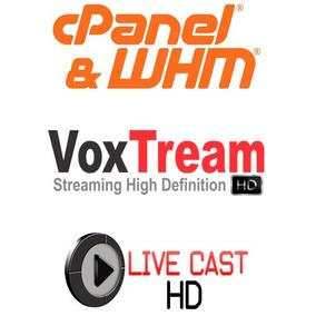 Rev. Master + Rev. Voxtream + Revenda Livecast + Whmcs