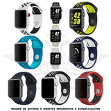 Pulseiras Nike Silicone Para Apple Watch - 38mm / 42mm