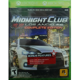 Midnight Club Los Angeles Complete Xbox 360/one (d3 Gamers)