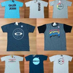 Kit 5 Camisetas Revenda Atacado Varias Marcas Famosas Surf · R  89 49 30cea3d441f